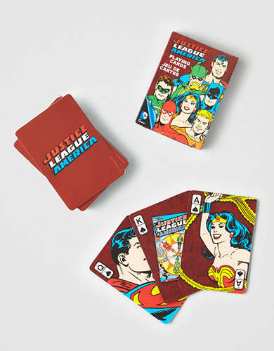 NMR Justice League Playing Cards -