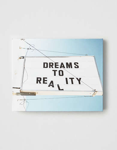 DENY Dream To Reality Canvas Print
