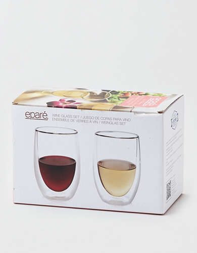 Epare Double Wall Wine Glasses