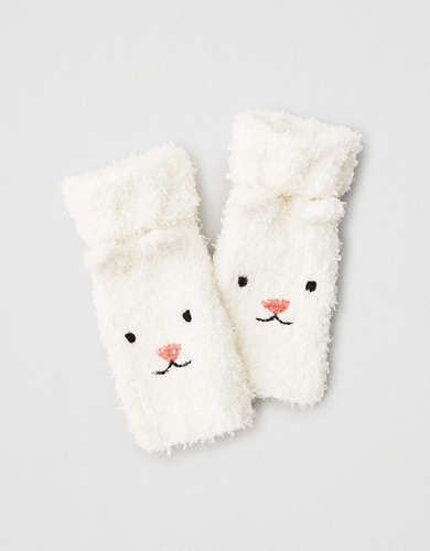 AE Polar Bear Fingerless Gloves