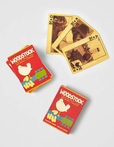 NMR Woodstock Playing Cards -
