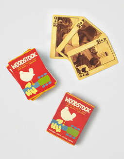 NMR Woodstock Playing Cards