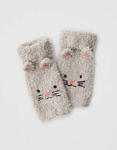 AE Cat Fingerless Gloves