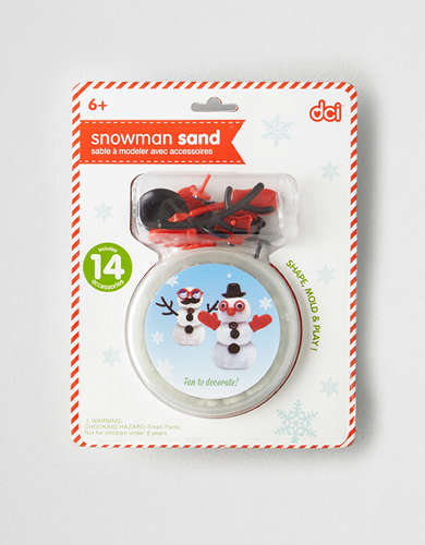 DCI Make Your Own Snowman Sand Kit