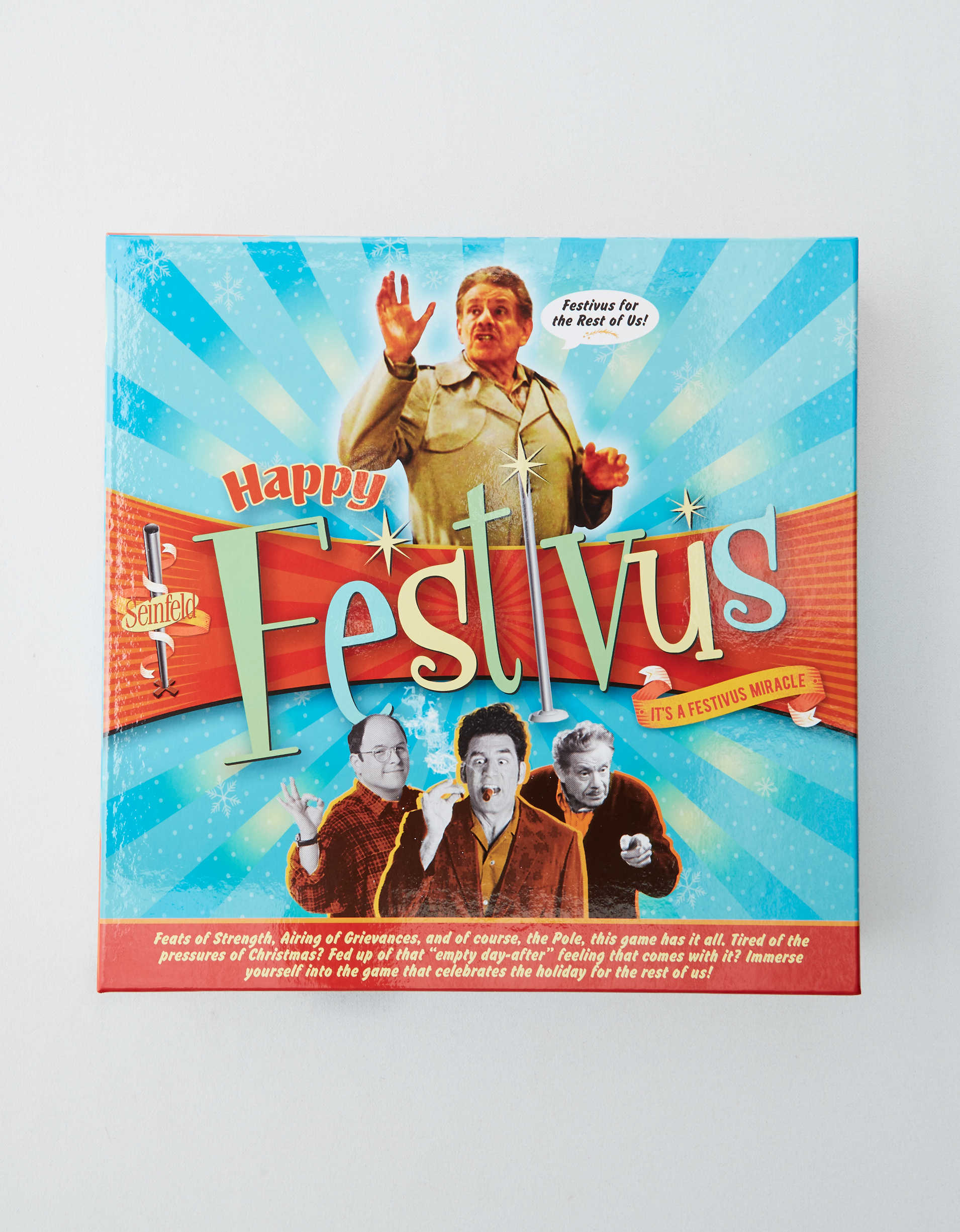 NMR Happy Festivus Board Game