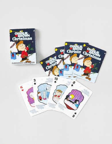 Aquarius Charlie Brown Christmas Playing Cards