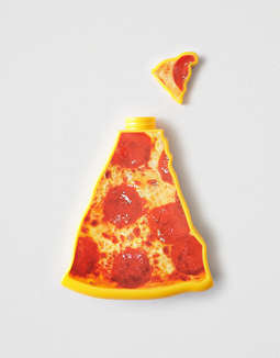 Barbuzzo Pizza Water Bottle