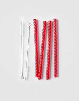 Barbuzzo Cherry Straws