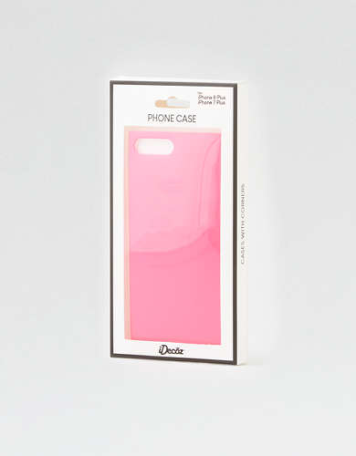 iDecoz Neon Pink iPhone 7/8 Plus Square Phone  Case