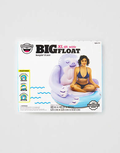 BigMouth Sloth Lounger Pool Float