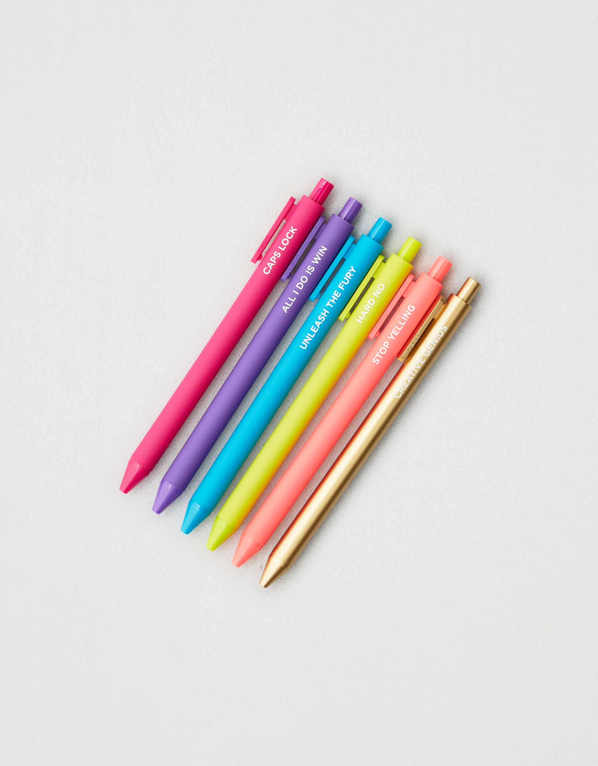Talking Out of Turn Jotter Pens 6-Pack