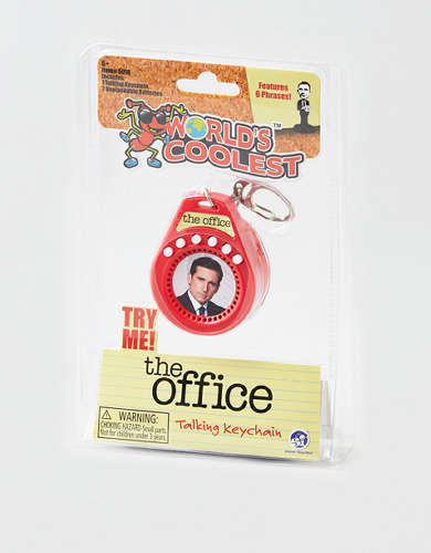 World's Smallest Michael Scott Keychain