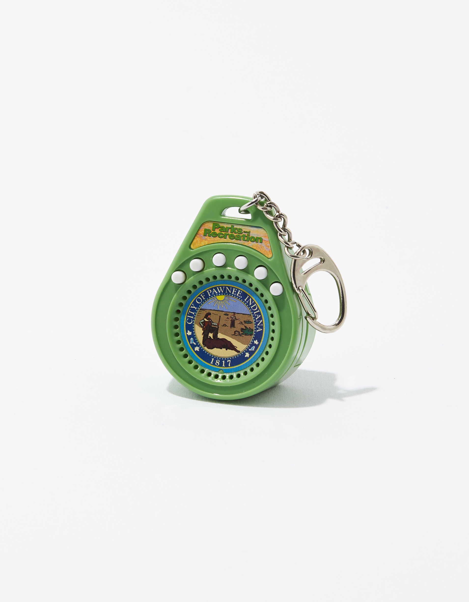 World's Smallest Parks & Rec Keychain
