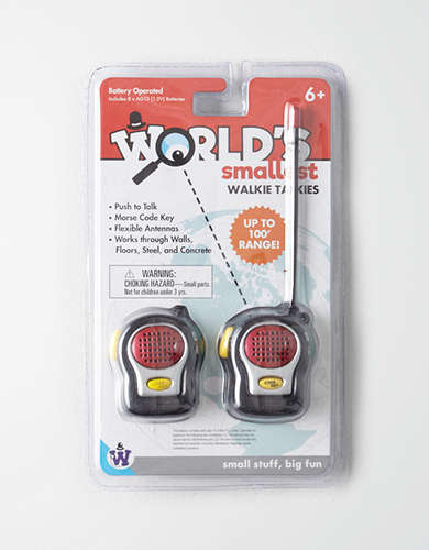Westminster World's Smallest Walkie Talkies