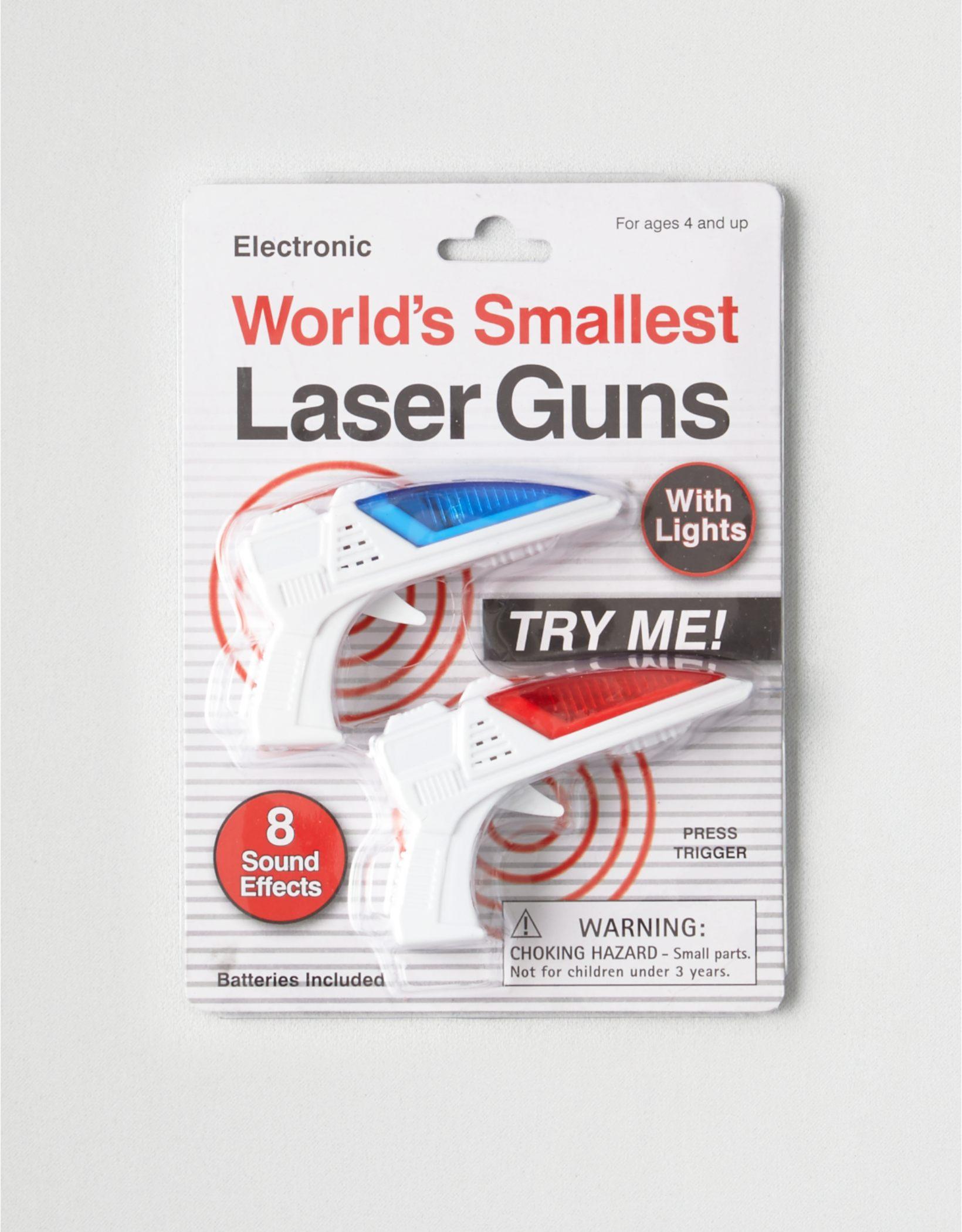 Westminster World's Smallest Laser Guns