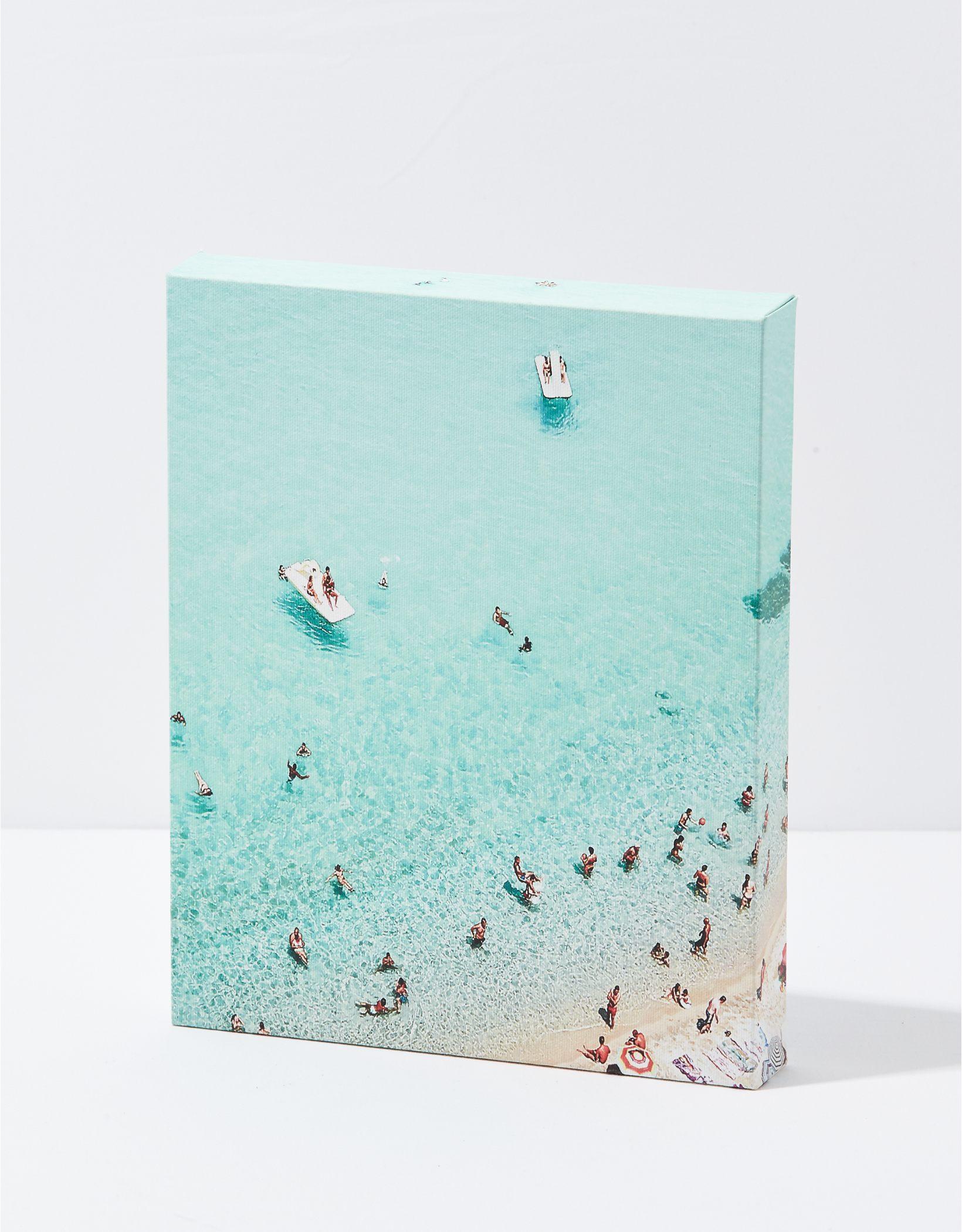 Happy Space Beach Canvas