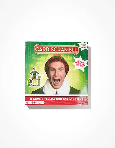Buddy The Elf Card Scramble Game