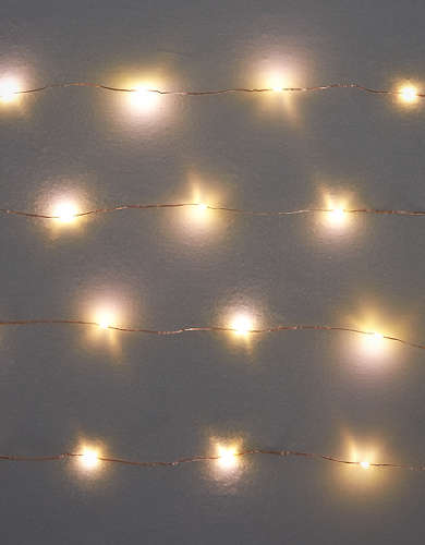 Kikkerland Copper String Lights