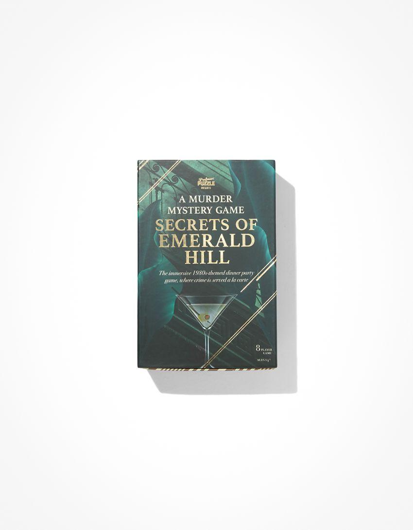 Professor Puzzle Secrets Of Emerald Hill Mystery Game