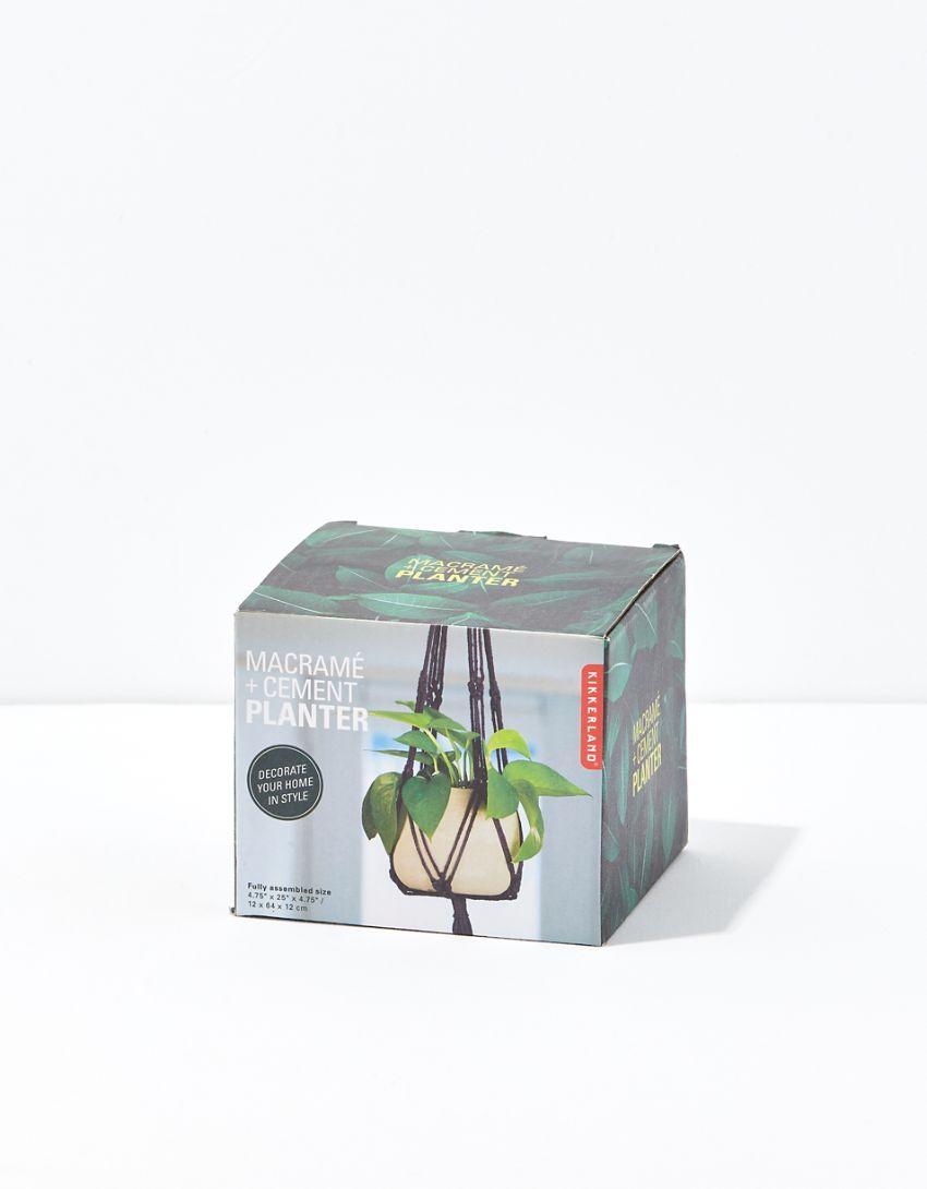 Kikkerand Macrame Planter