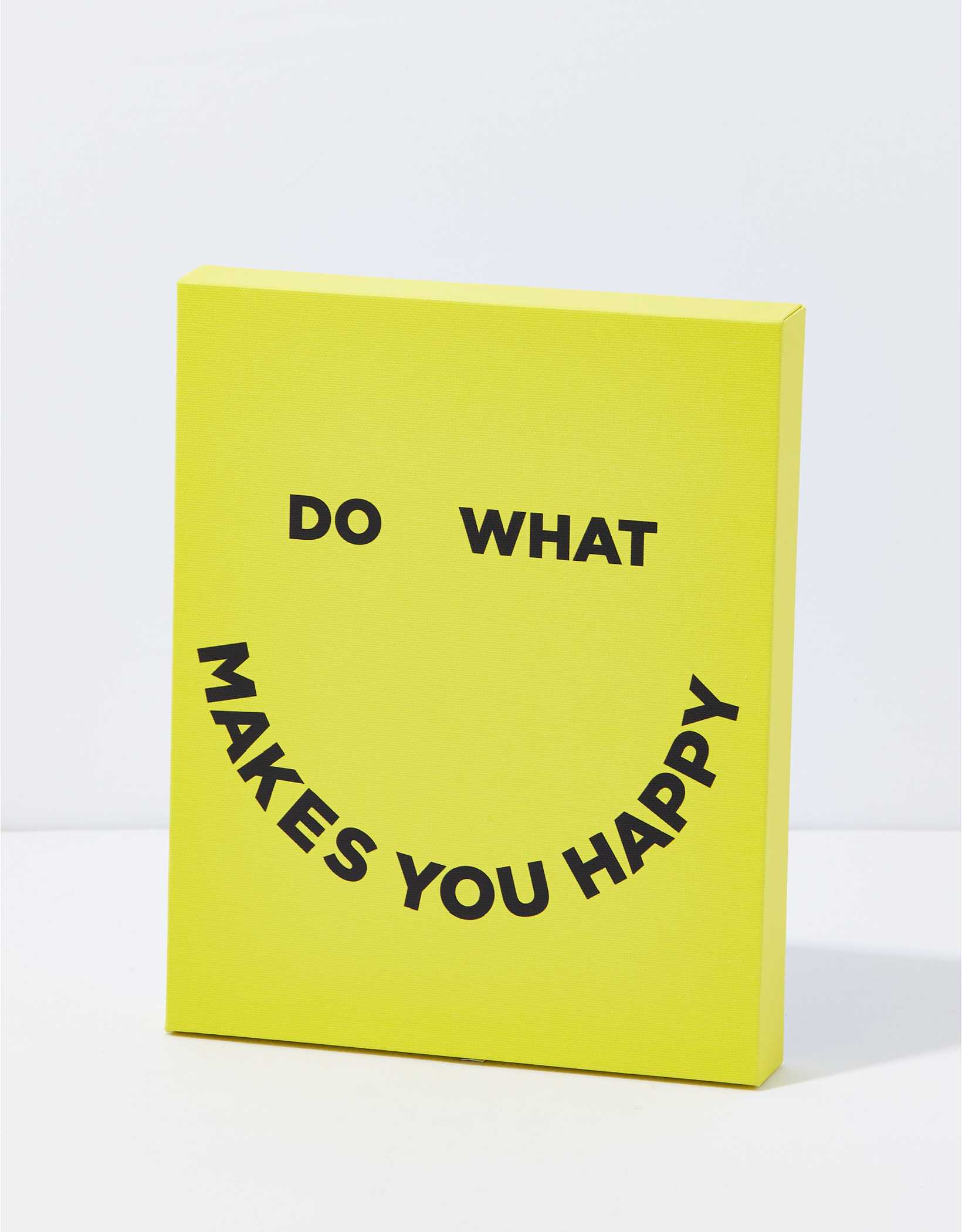 Society 6 Do What Makes You Happy Canvas