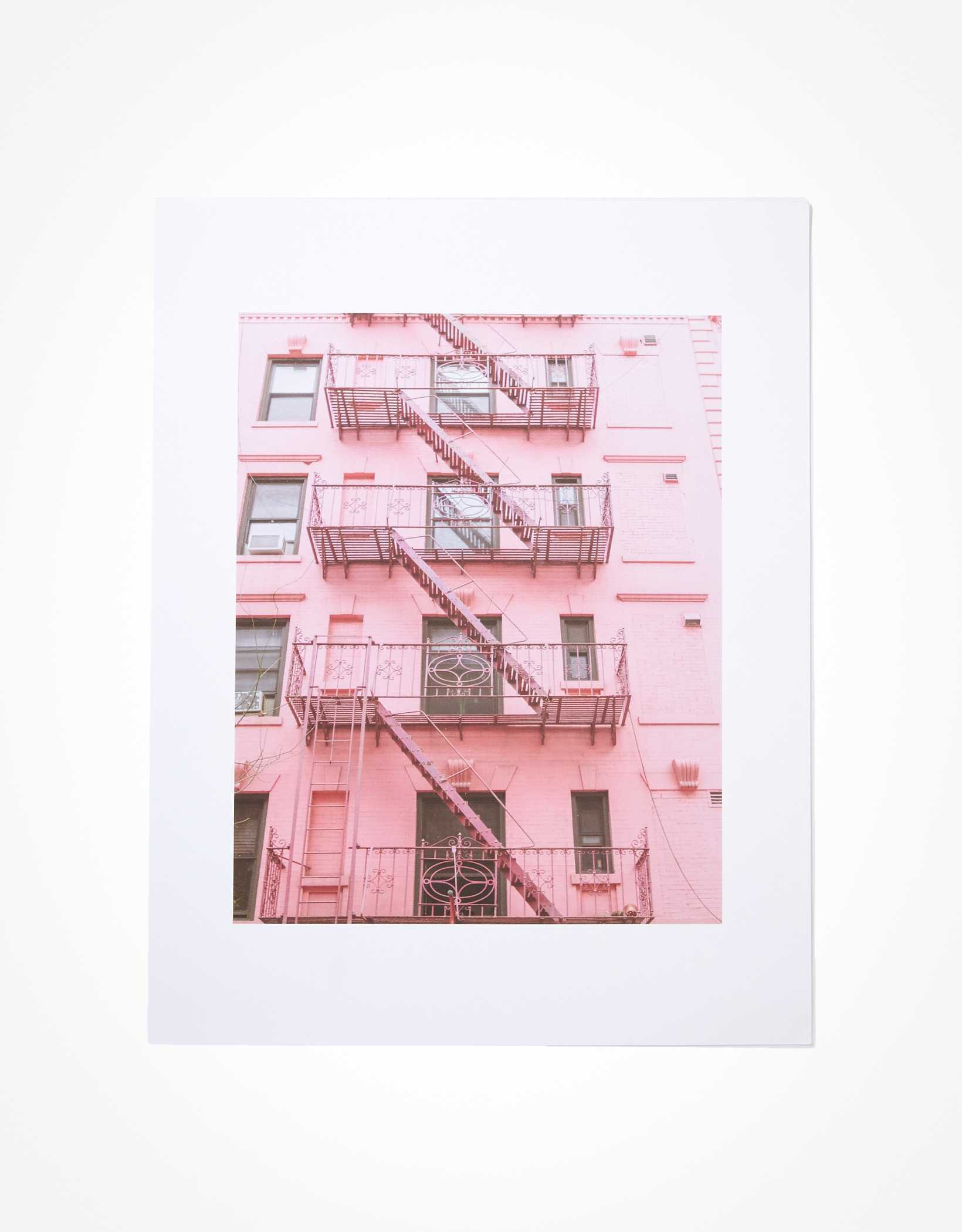 Society 6 Pink Soho Print