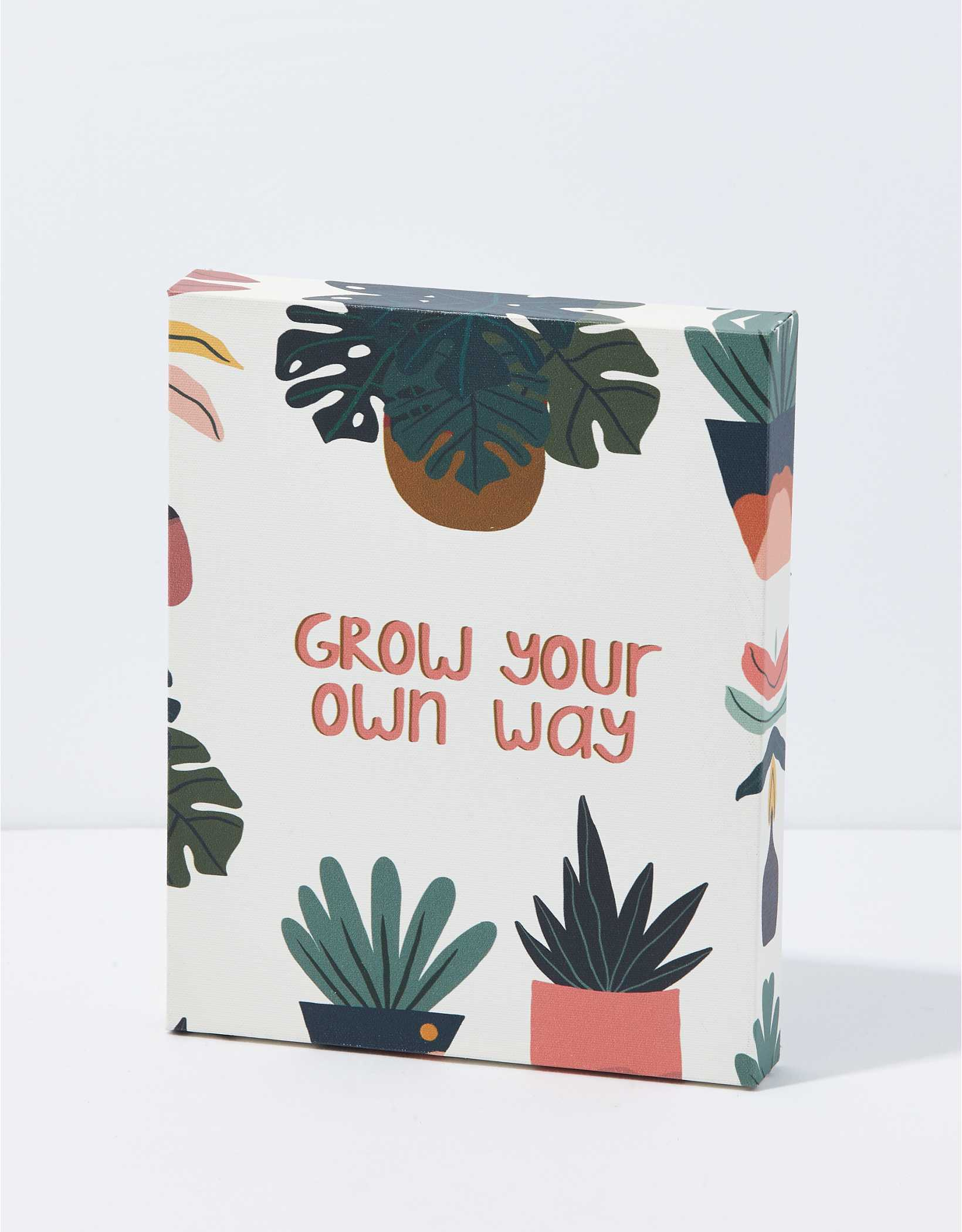 Society 6 Grow Your Own Way Canvas