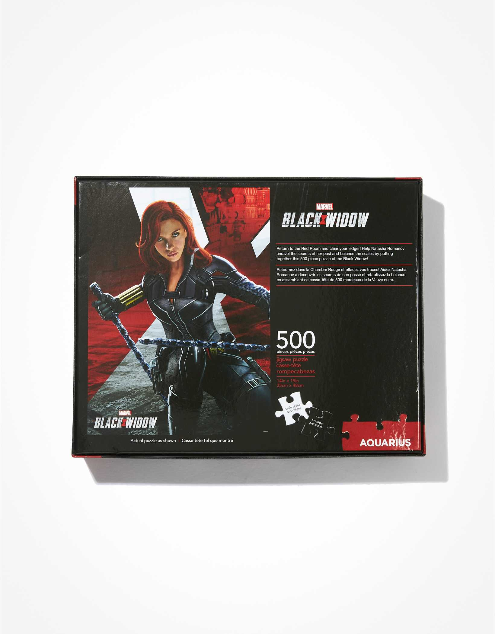 Aquarius Black Widow 500 Piece Puzzle