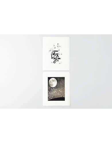 Deny Designs Set of 2 Art Prints -