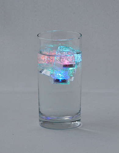 Twelve NYC Light Up Ice Cubes