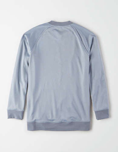 TACKMA TECH Performance Fleece Crew Neck Sweatshirt