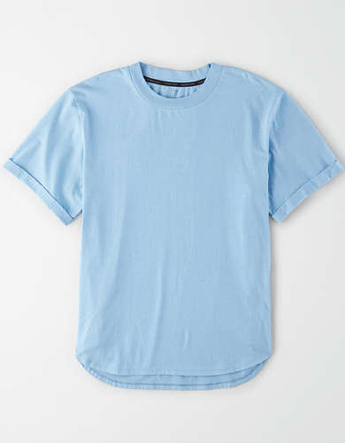 TACKMA Tech Rolled Sleeve T-Shirt