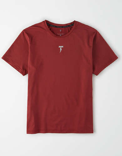 TACKMA TECH Performance Crew Neck T-Shirt