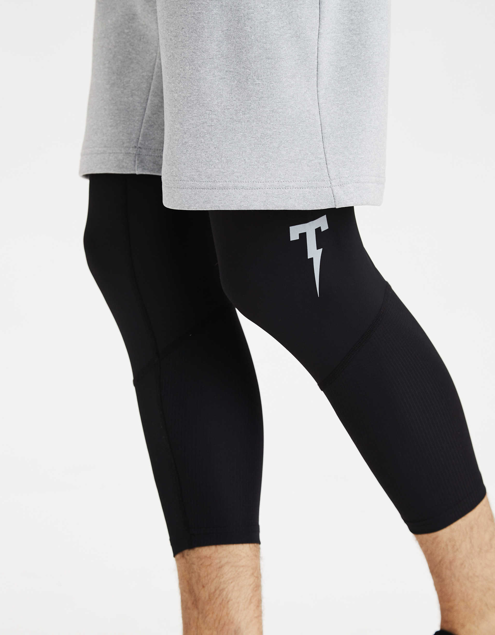 TACKMA Cropped Compression Pant