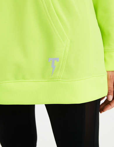 TACKMA Performance Fleece Oversized Hoodie