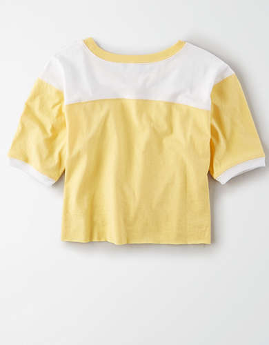 AE Studio Color Block Boxy T-Shirt