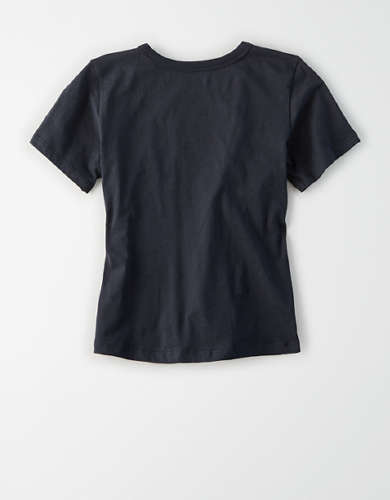 AE Studio Boxy Cropped Graphic T-Shirt