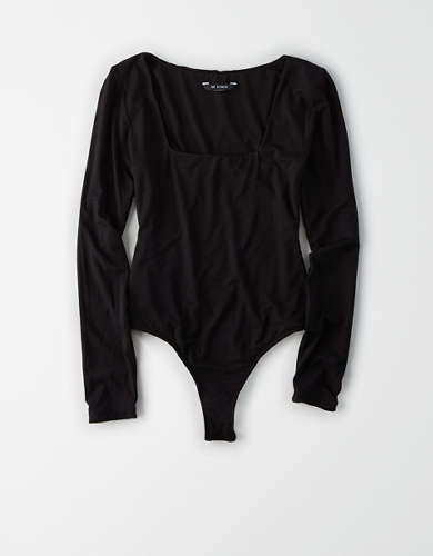 AE Studio Square Neck Bodysuit
