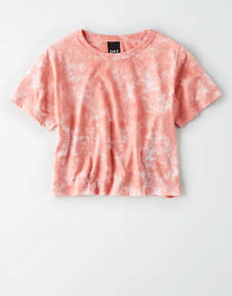 AE Studio Tie Dye Cropped T-Shirt