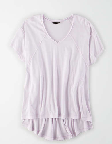 AE Studio Oversized V-Neck T-Shirt