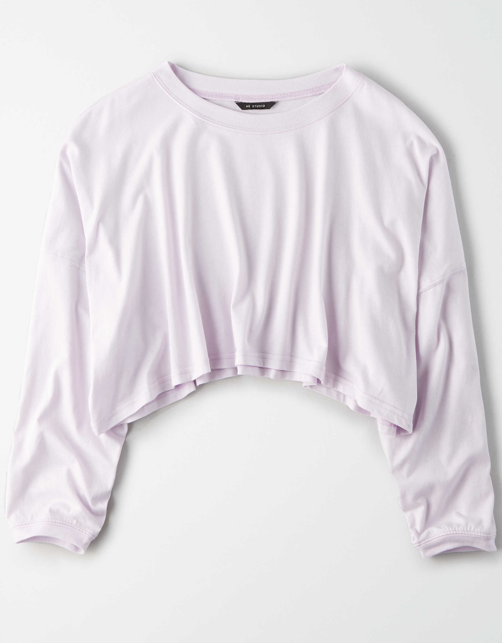 AE Studio Long Sleeve Cropped T-Shirt