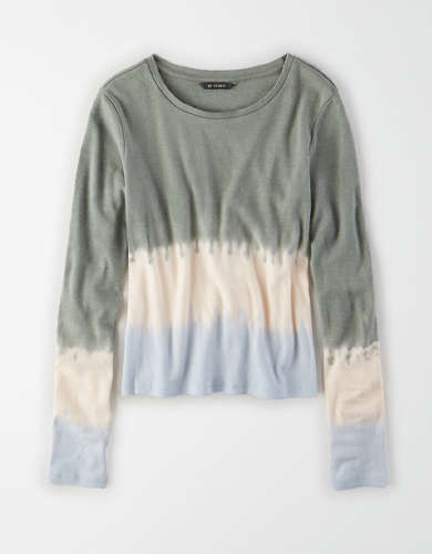 AE Studio Tie Dye Long Sleeve T-Shirt