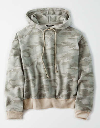AE Studio Fleece Color Block Hoodie