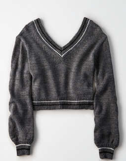 Don't Ask Why V Neck Sweater by American Eagle Outfitters