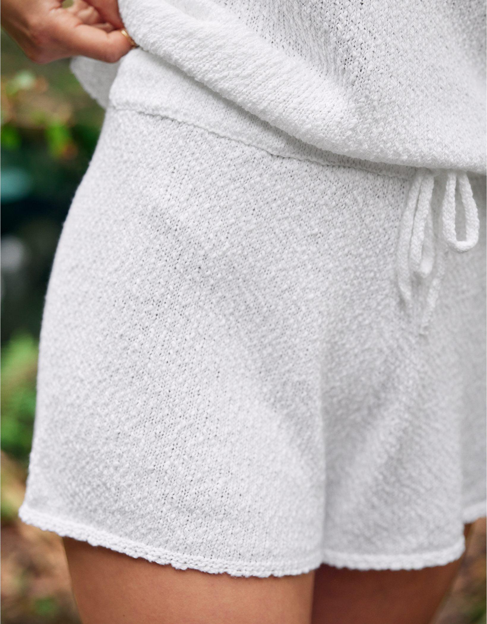 Aerie High Waisted Sweater Short