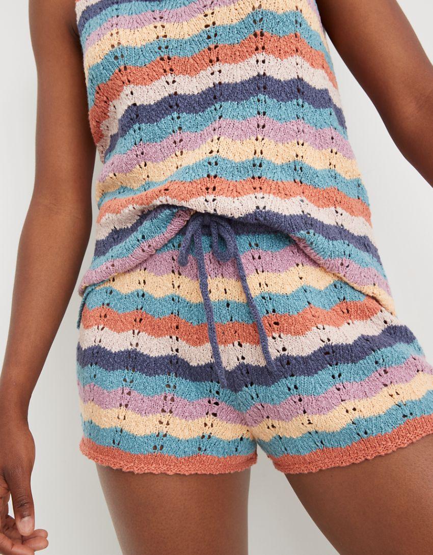 Aerie Sweater High Waisted Short