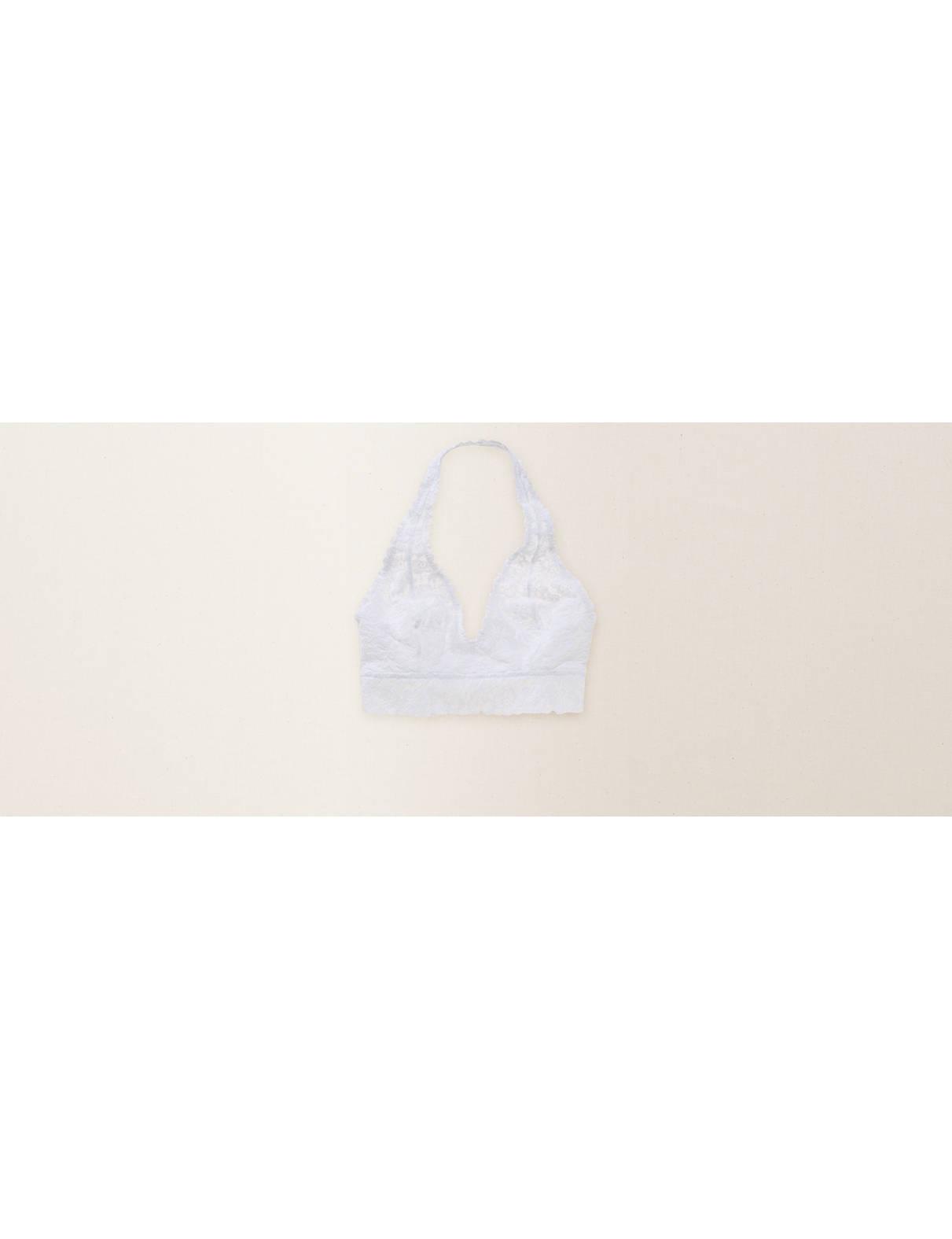 46a3041266 Aerie Softest® Lace Halter Bralette