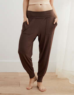 Aerie Real Soft® Ribbed Nomad Pant