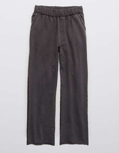 Aerie Sunset Terry Fleece Cropped Pant