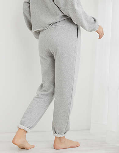 Aerie Fleece-Of-Mind High Waisted Jogger